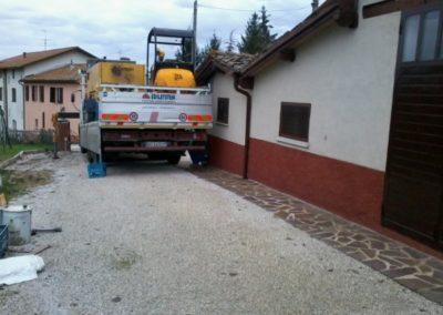 Minipalo Geosystem Consolidación de la pared Dionisi gubbio