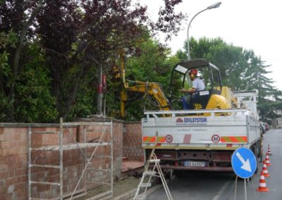 Minipalo Geosystem Wall consolidation Bientina