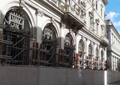 Minipalo Geosystem Consolidamento basamento pilastri  - L'Aquila