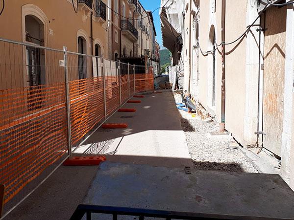 Minipalo Geosystem Consolidamento edificio storico - L'Aquila