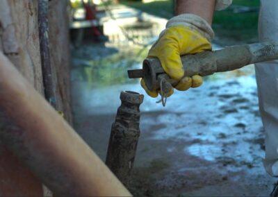 Minipalo Geosystem Eliminazione cedimento fondale - San Benedetto del Tronto